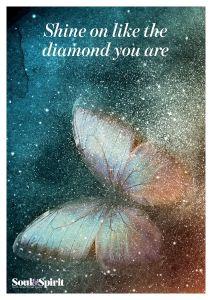 Shine like a Diamond Poster