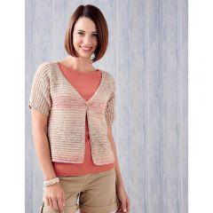 Short Sleeve Summer Cardi Knitting Pattern