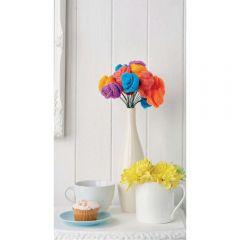 Simple Flower Bouquet Knitting Pattern