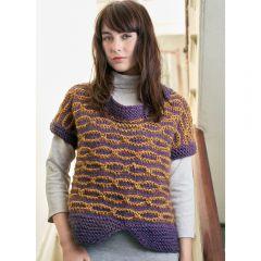 Slip-stitch Sweater Knitting Pattern