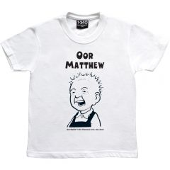 Oor Wullie Smiling Personalised Kids T-shirt