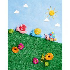 Snail Toys Knitting Pattern