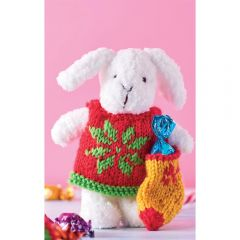 Snowflake the Bunny Knitting Pattern