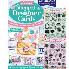 Stamped Designer Cards
