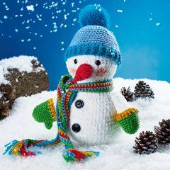 Stanley The Snowman Crochet Kit
