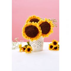 Sunflower Bouquet Knitting Pattern