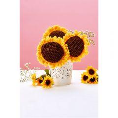 Sunflower Bouquet Knitting Pattern