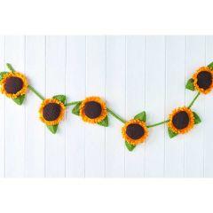Sunflower Bunting Knitting Pattern