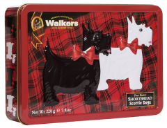 Walkers Scottie Shortbread Tin