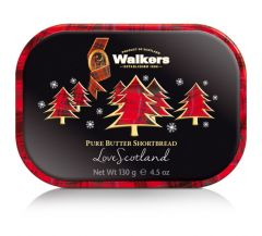 Walkers Christmas Trees Mini Tin